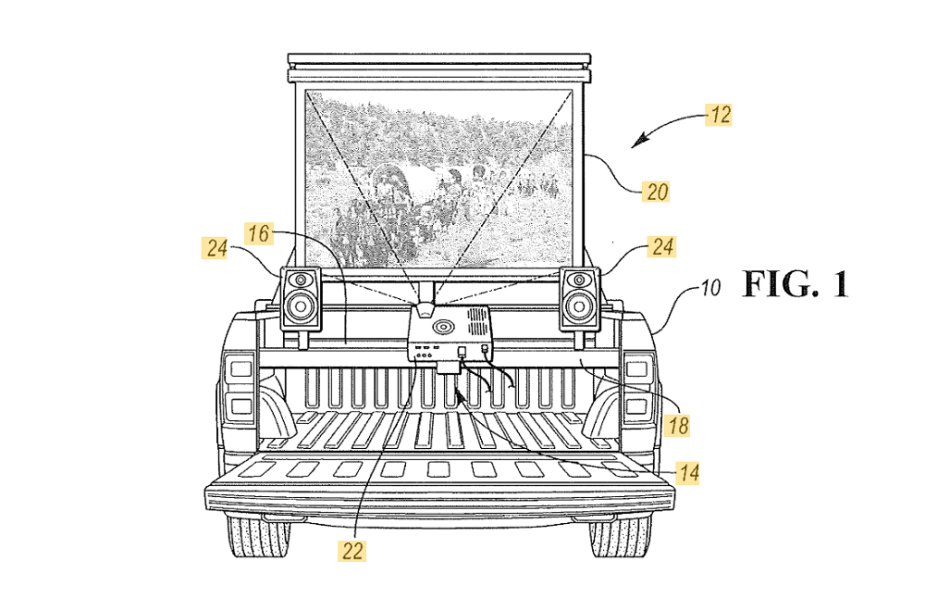 Ford F-150 Patent