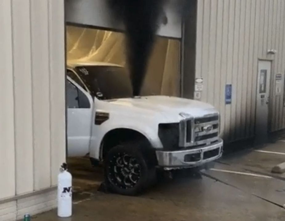 Exploding Ford Super Duty