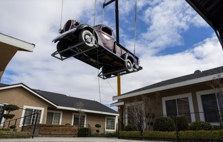 1939 Ford Truck in the Air