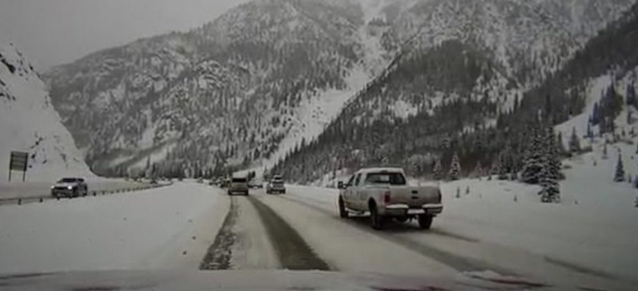Ford Super Duty Before Avalanche