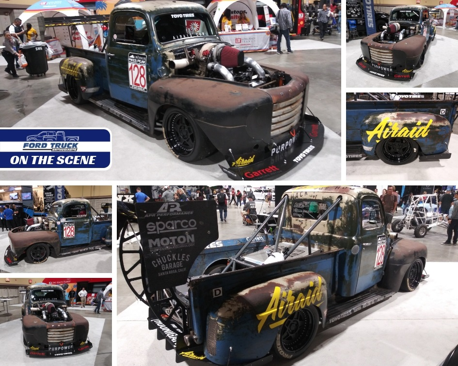 1987 Ford F150 >> Ford-Trucks at 2019 Long Beach Grand Prix: 'Old Smokey' F1 is a Gas