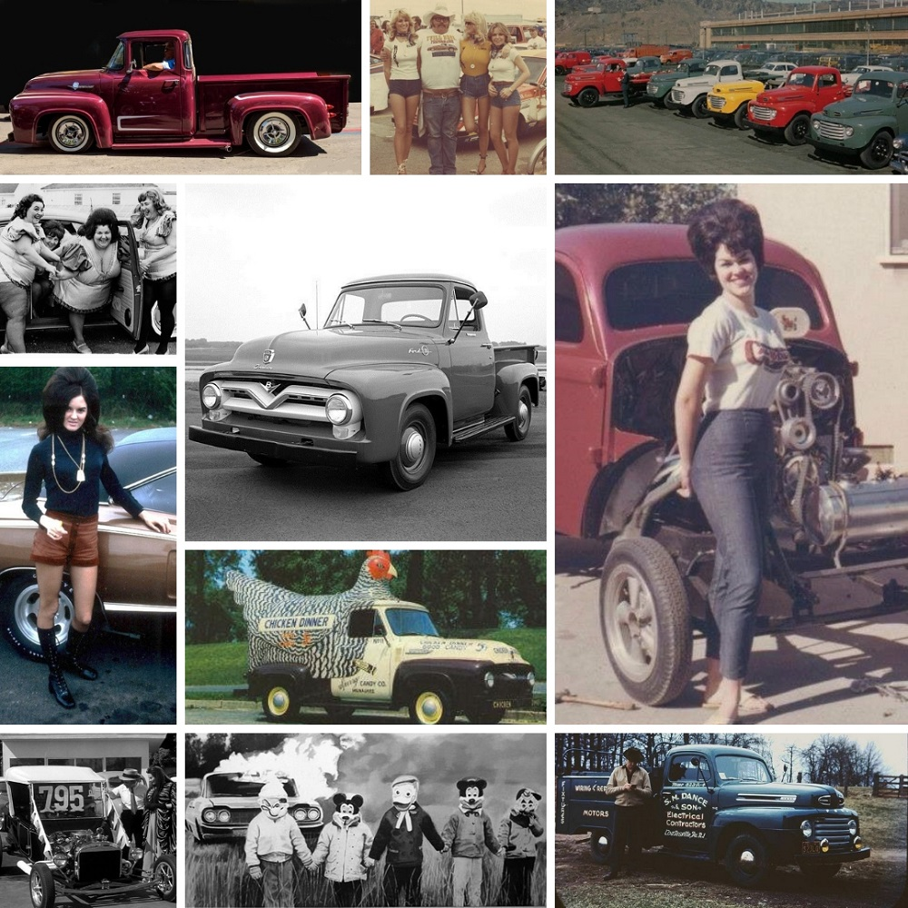 massive collection  vintage ford truck pics  worth  long