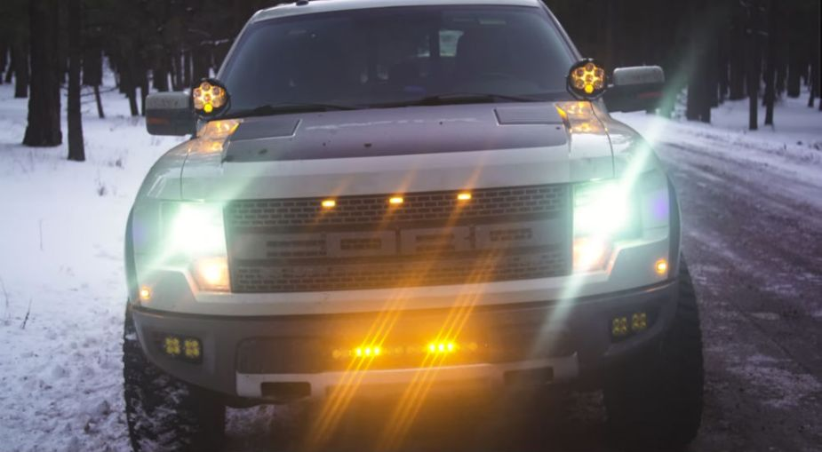Ford Raptor and F-150