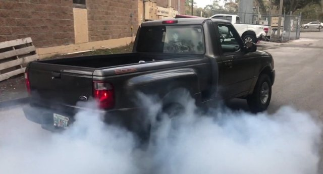 Ford Ranger Burnout