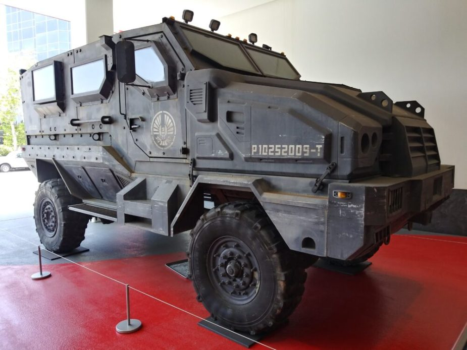 Ford L8000 SJ-7 Peacekeeper at the Petersen