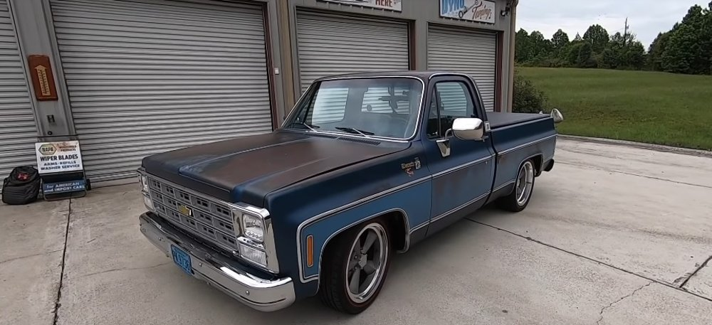 1980 Chevy is Built Ford Tough with Coyote Power
