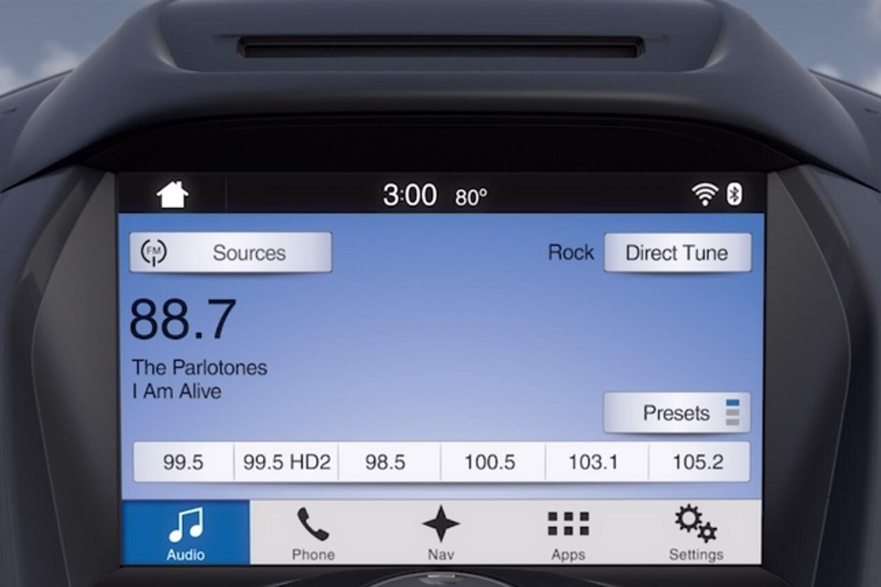 hight resolution of voice control radio video demo