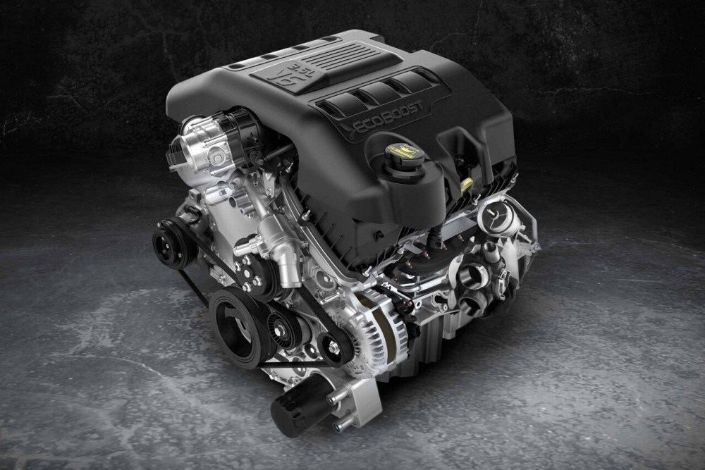 medium resolution of 3 5l ecoboost engine of the 2018 ford explorer