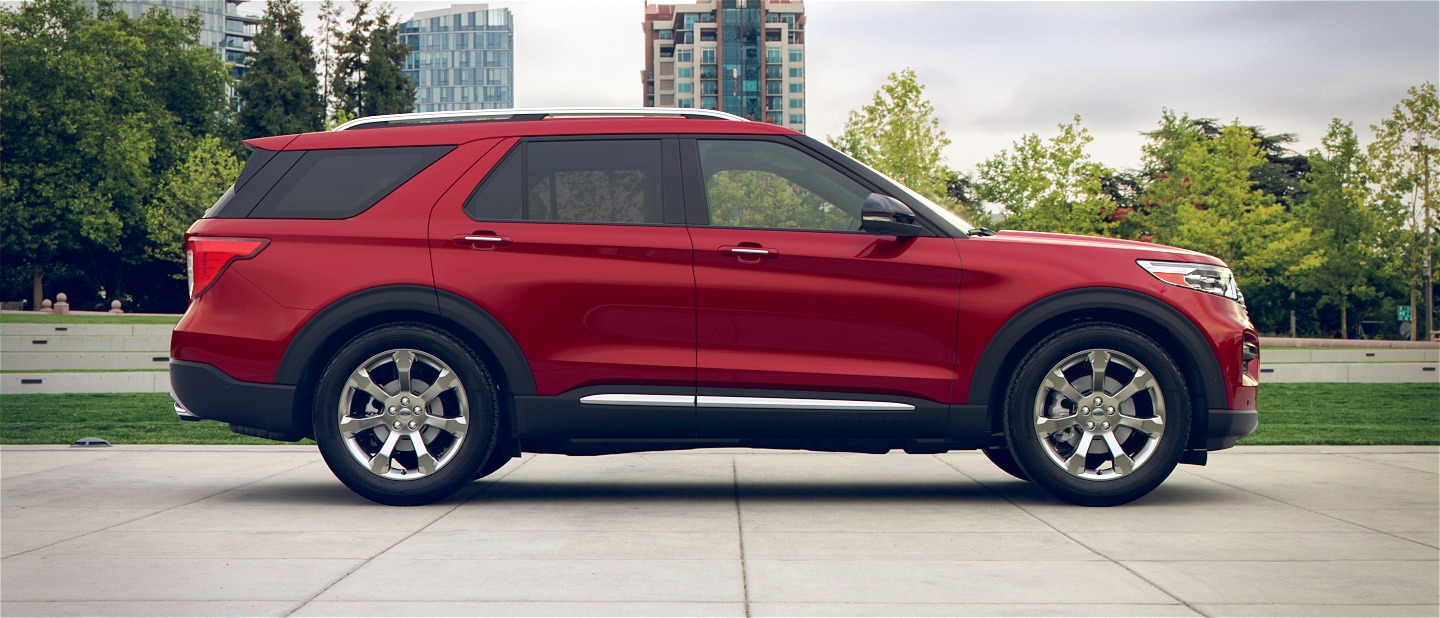 hight resolution of press here to spin 3 60 degrees colourizer 2020 ford explorer shown in rapid red metallic