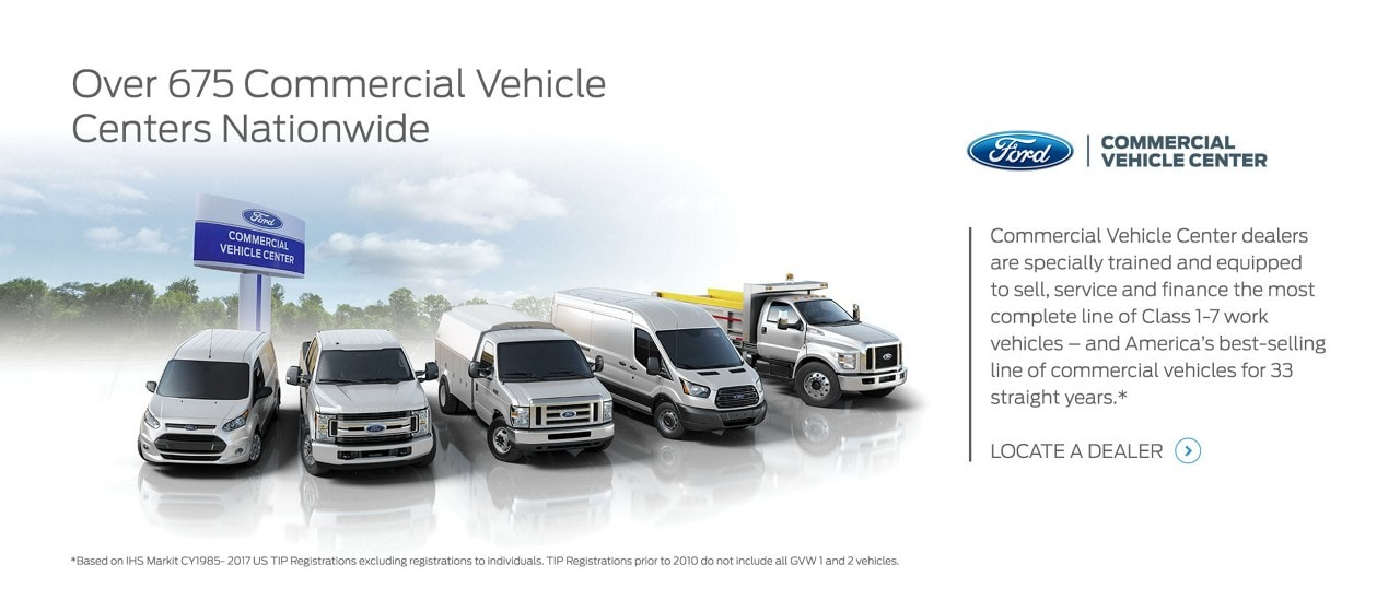 ford commercial vehicle center