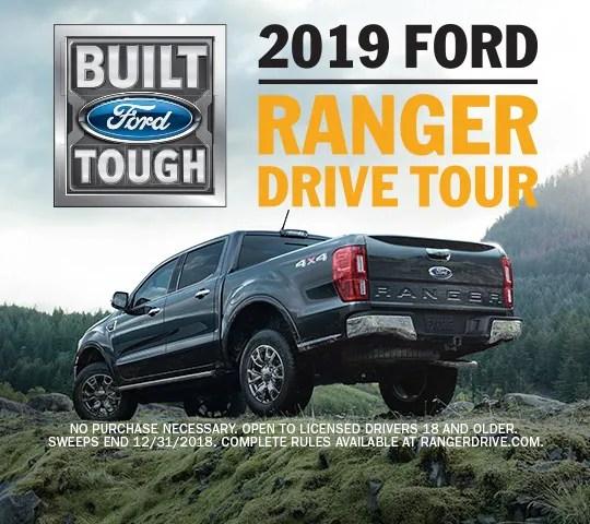 2019 Ford Ranger Drive Tour