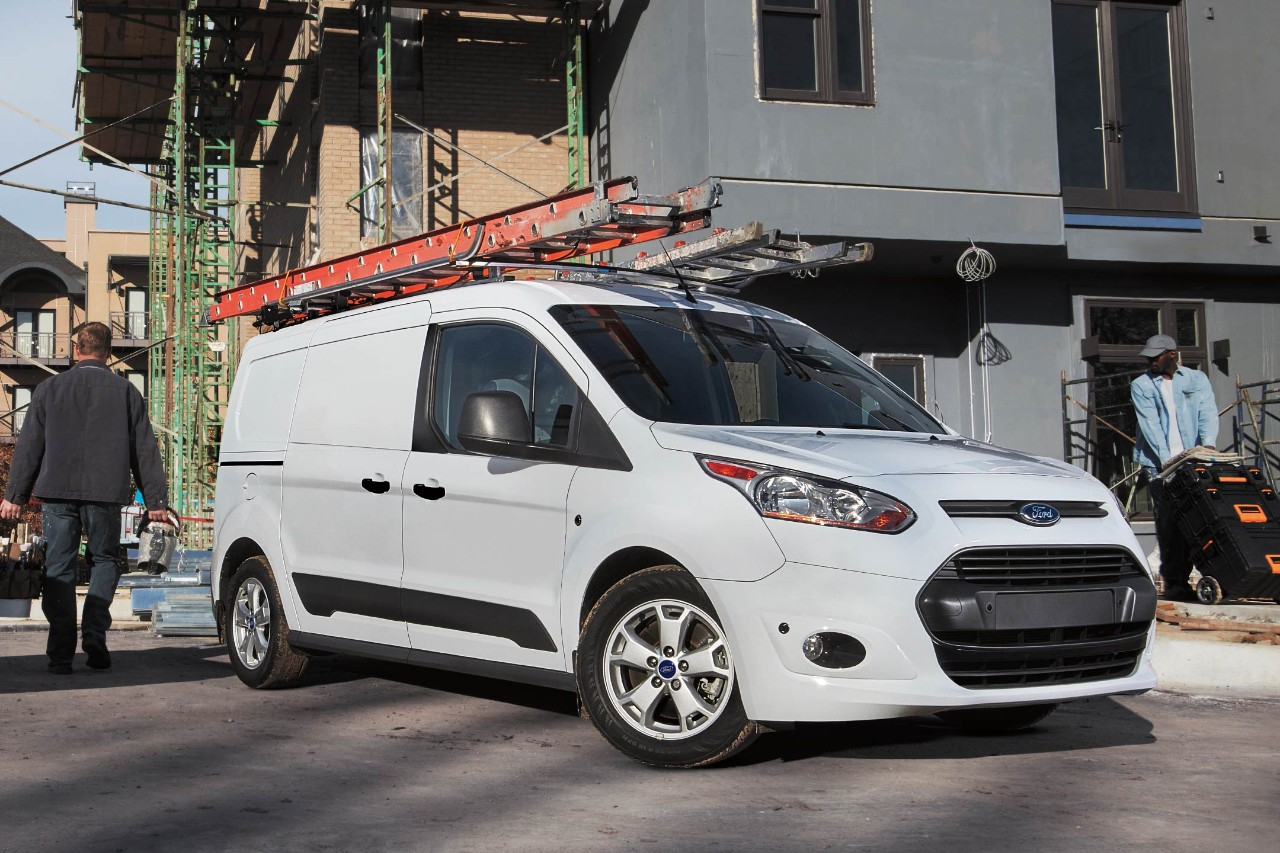 2017 Ford Transit Connect In Frozen White