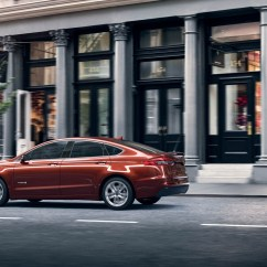 And Electric Johnson Outboard Key Switch Wiring Diagram New Hybrids Vehlcles Evs Plug Ins Find The Best Ford A 2019 Fusion Hybrid In Rich Copper Being Driven Down City Street