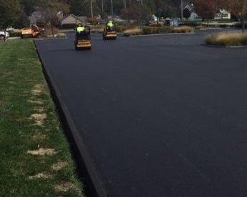 asphalt curb installation ford