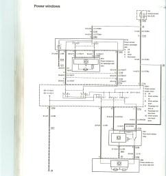 power window wiring diagram interior fordcontour  [ 1700 x 2338 Pixel ]