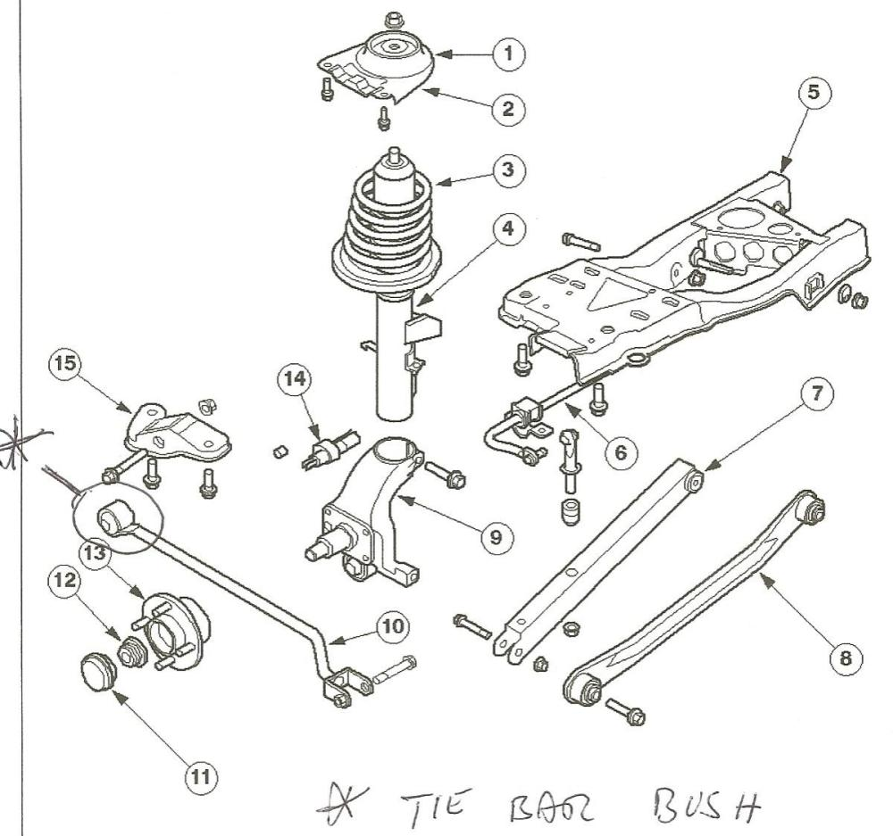 medium resolution of rear suspension toe arms knowledgebase ask terry fordcontour org rear suspension diagram on 1998 ford contour rear suspension diagram
