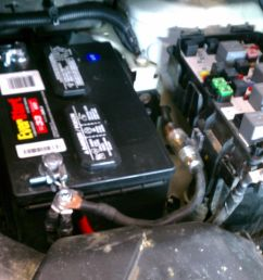 battery cabling updated and amp power wire with fuse [ 1600 x 957 Pixel ]