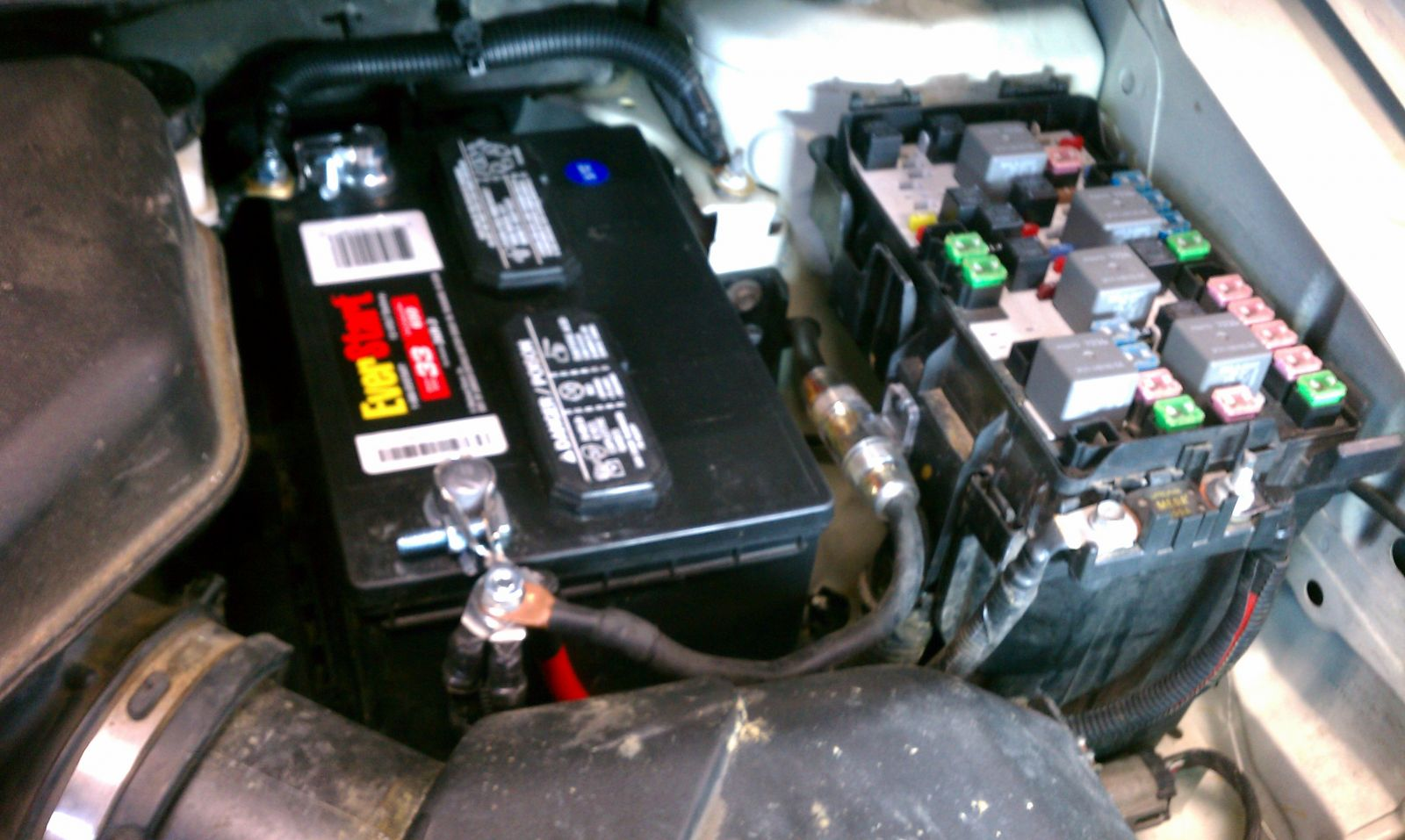 hight resolution of battery cabling updated and amp power wire with fuse