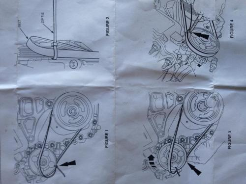 small resolution of  post 7522 0 01673700 1405995816 thumb jpg serpentine and power steering belt replacement