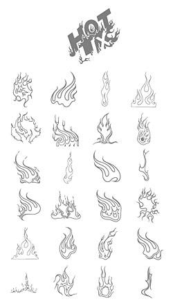 Vector fire Download Free Vector,PSD,FLASH,JPG--www