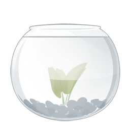 The series of transparent PNG icon fish tank Download Free