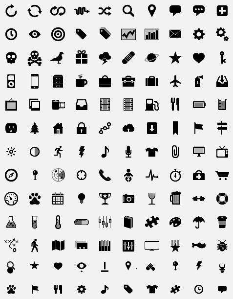 Simple Small Icons Vector Download Free Vector,PSD,FLASH