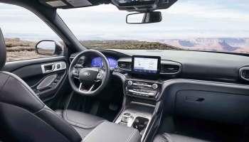 2021 Ford Explorer Platinum Interior