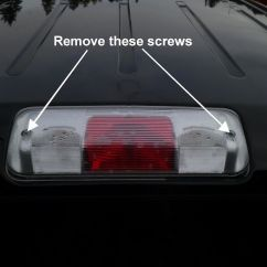 Two Lights One Switch Wiring Diagram 65 Mustang Headlight How To Fix A Ford F-150 Third Brake Light Water Leak