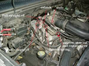Grino's Throttle body cleaning howto (sorta)  Ford F150 Forum
