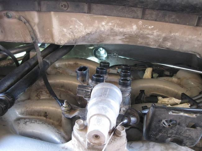 1998 Ford Econoline E150 Fuse Diagram Fuel Pressure Regulator Where Is It Ford F150 Forum