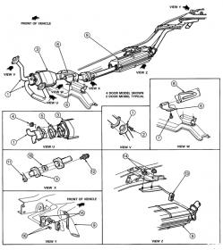 I need a 1994 Ford Explorer exhaust diagram  Ford Forum