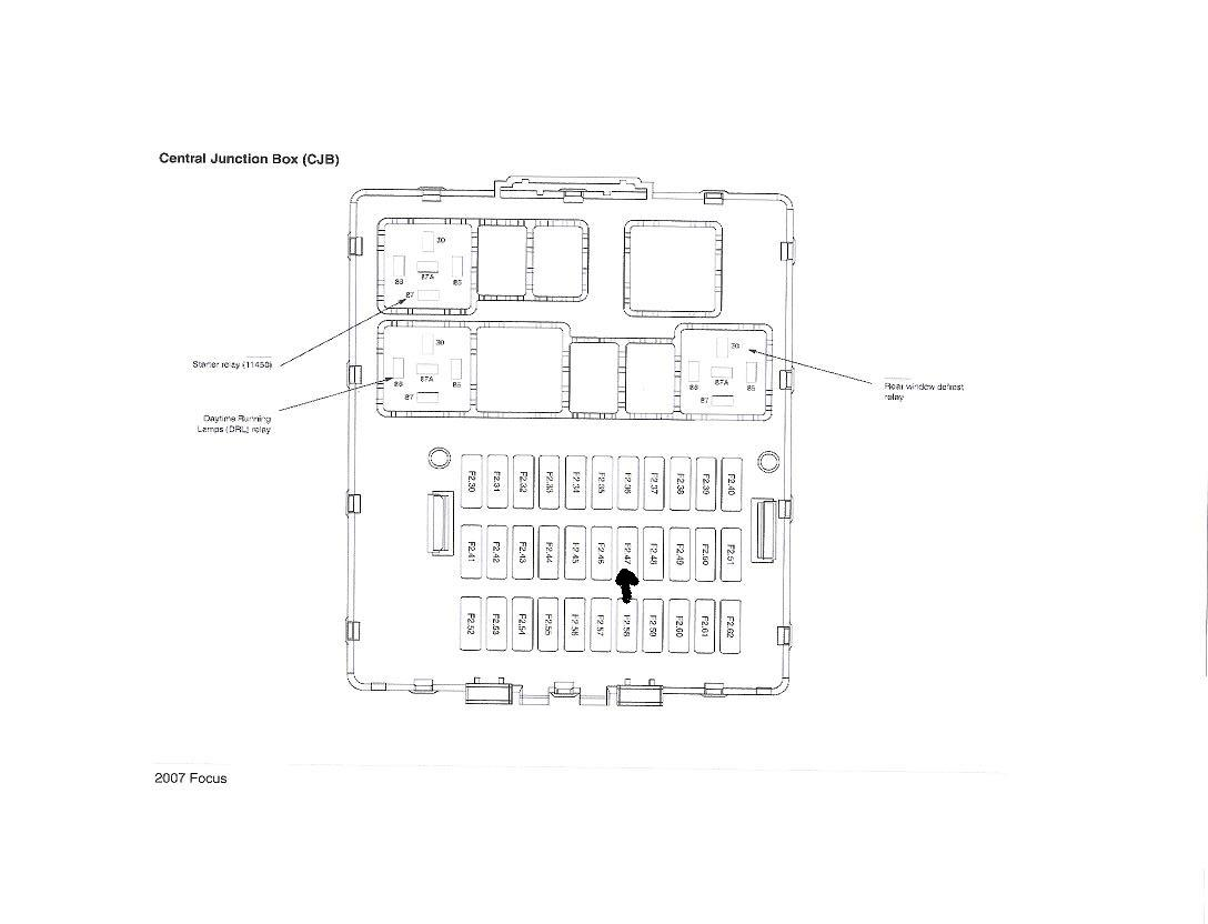 2006 Ford Focus Fuse Box Diagram Cigar Lighter