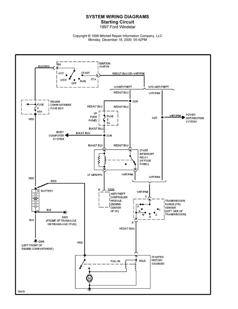 medium resolution of  ford windstar electrical diagram 1996 windstar starter runs in accessory run and start positions 0047 jpg 1996 windstar starter runs