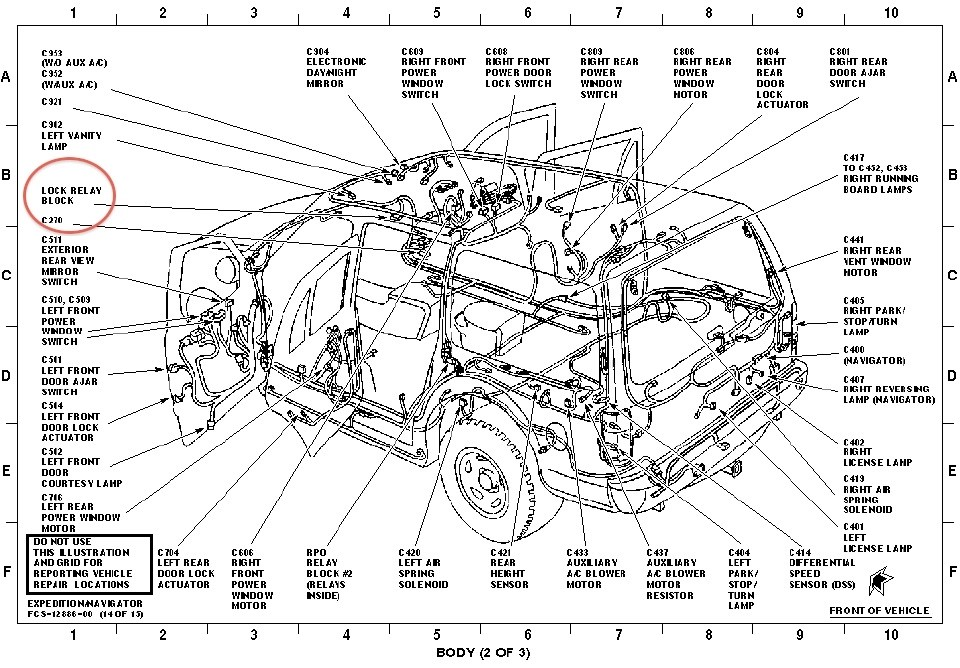 Diagram 2001 Ford Expedition Drivetrain. Ford. Auto Parts