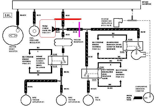 Ford E450 Vacuum Diagram • Wiring Diagram For Free