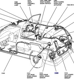 am looking for a place to mount an antenna on a 2000 windstar 2000 ford windstar 2001 ford expedition door ajar diagram  [ 1108 x 838 Pixel ]