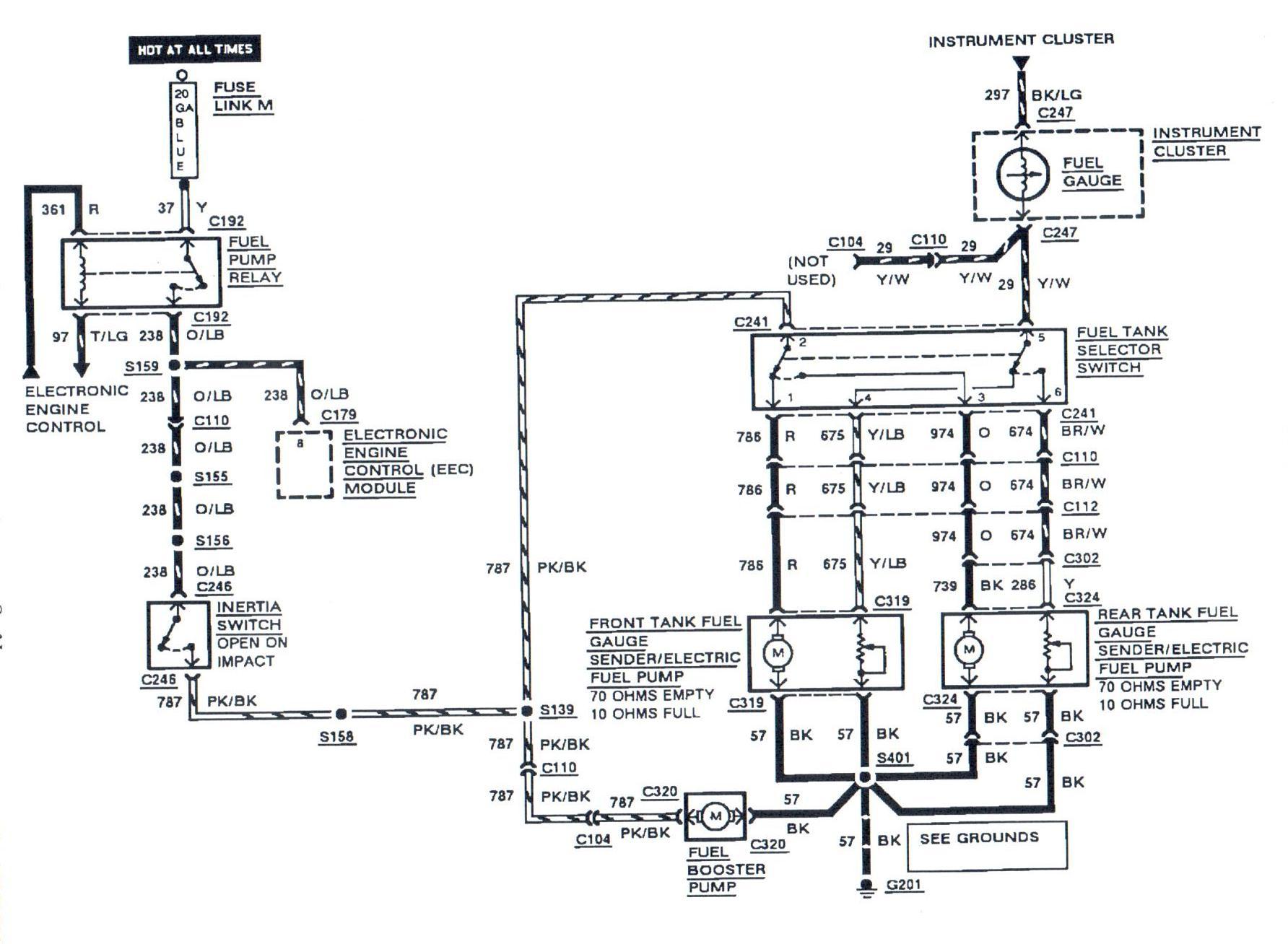 1984 ford e350 wiring diagram 1990 club car battery 36 volt 1985 f 250 truck