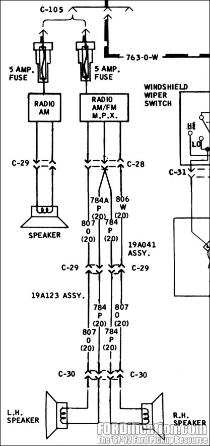 1972 Corvette Radio Wiring Diagram, 1972, Free Engine
