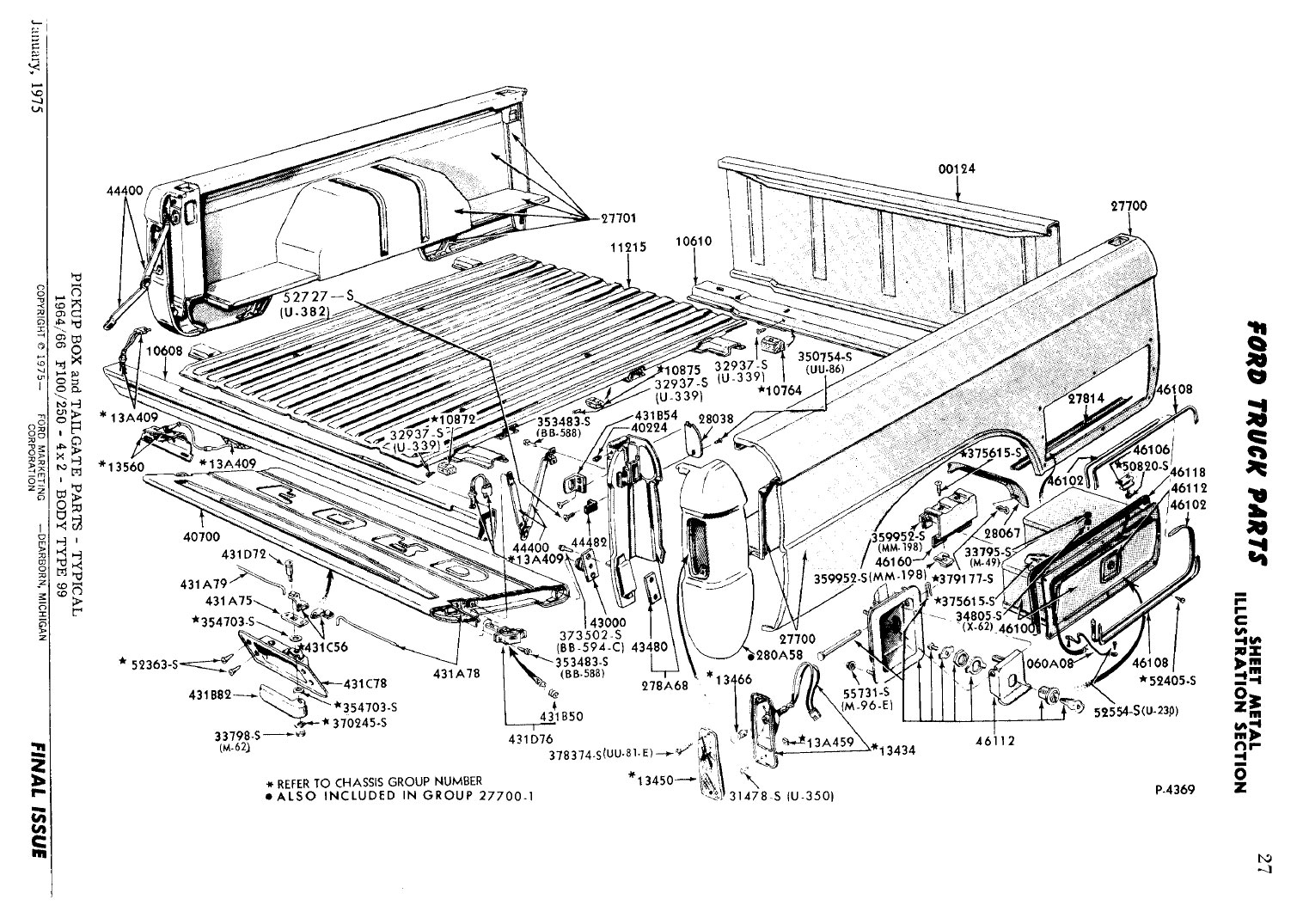 68 F100 Bedside Toolbox