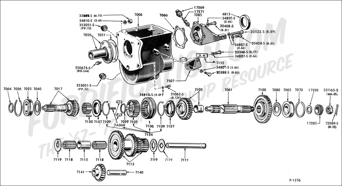 1964 Ford f100 manual transmission