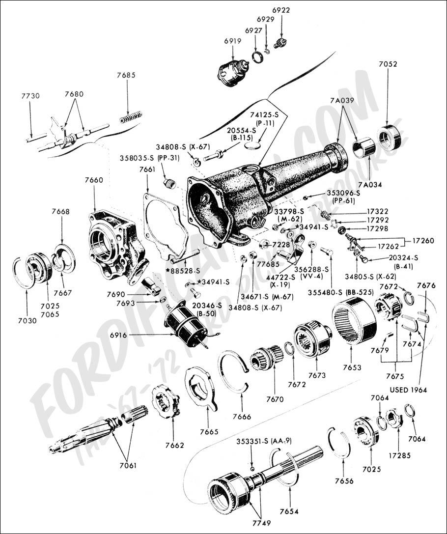 Ford Probe Headlight Wiring Circuit Diagram