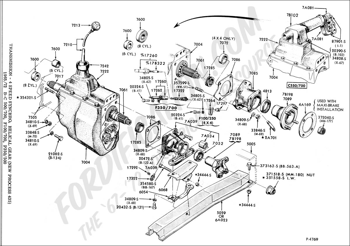 1999 ford f250 clutch diagram
