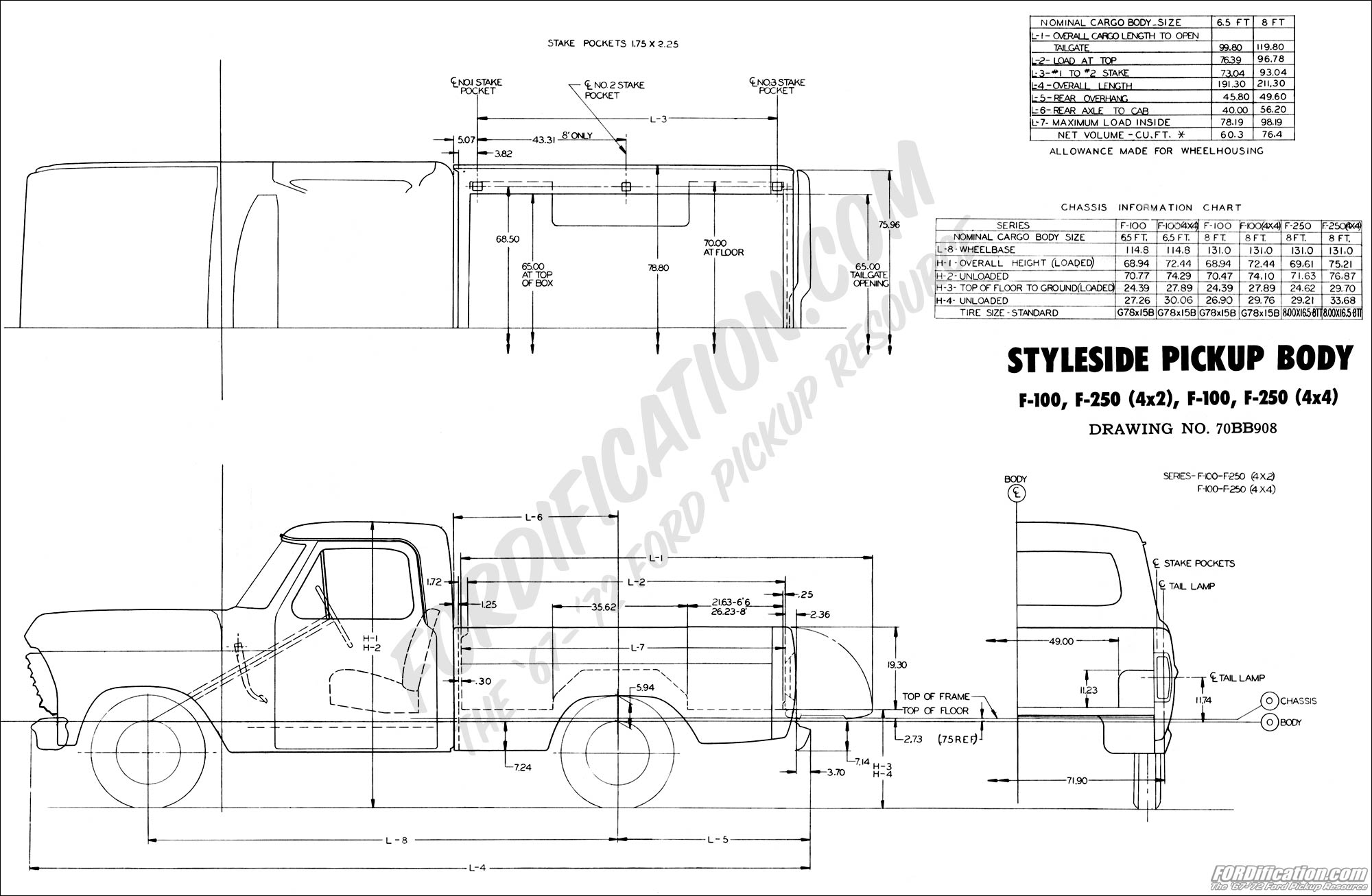 2015 Ford F 250 Super Duty Wiring Diagrams 1970 Body Builder S Layout Book Fordification Com