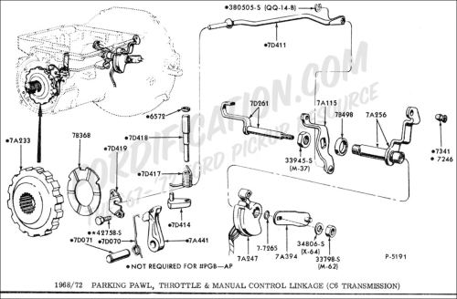small resolution of ford truck technical drawings and schematics section g drivetrain transmission clutch transfer case etc