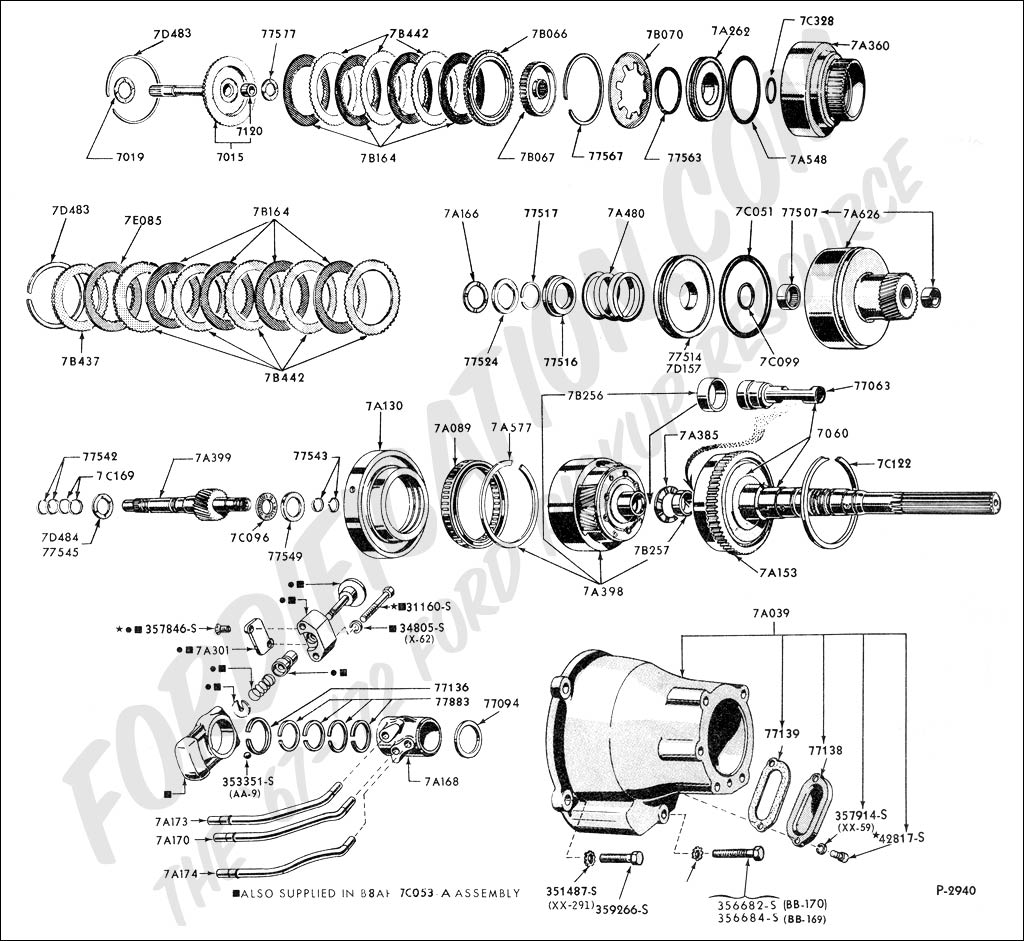 C6 Transmission Parts Diagram, C6, Free Engine Image For