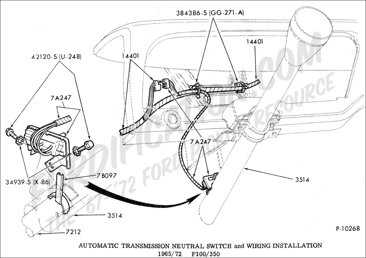 hight resolution of ford truck technical drawings and schematics section g ford neutral safety switch wiring solutions