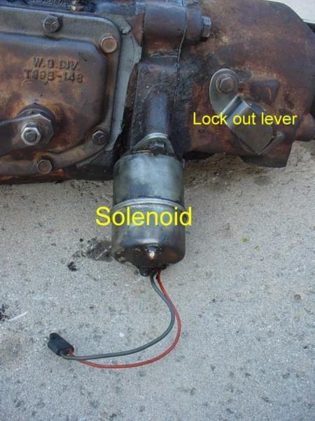 1972 Chevy Truck Starter Wiring The Borg Warner Overdrive Transmission Explained