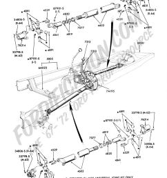 ford truck technical drawings and schematics section a front rear axle assemblies and suspensions [ 1024 x 1428 Pixel ]