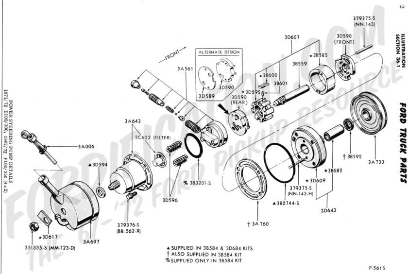 ford f 350 belt diagram