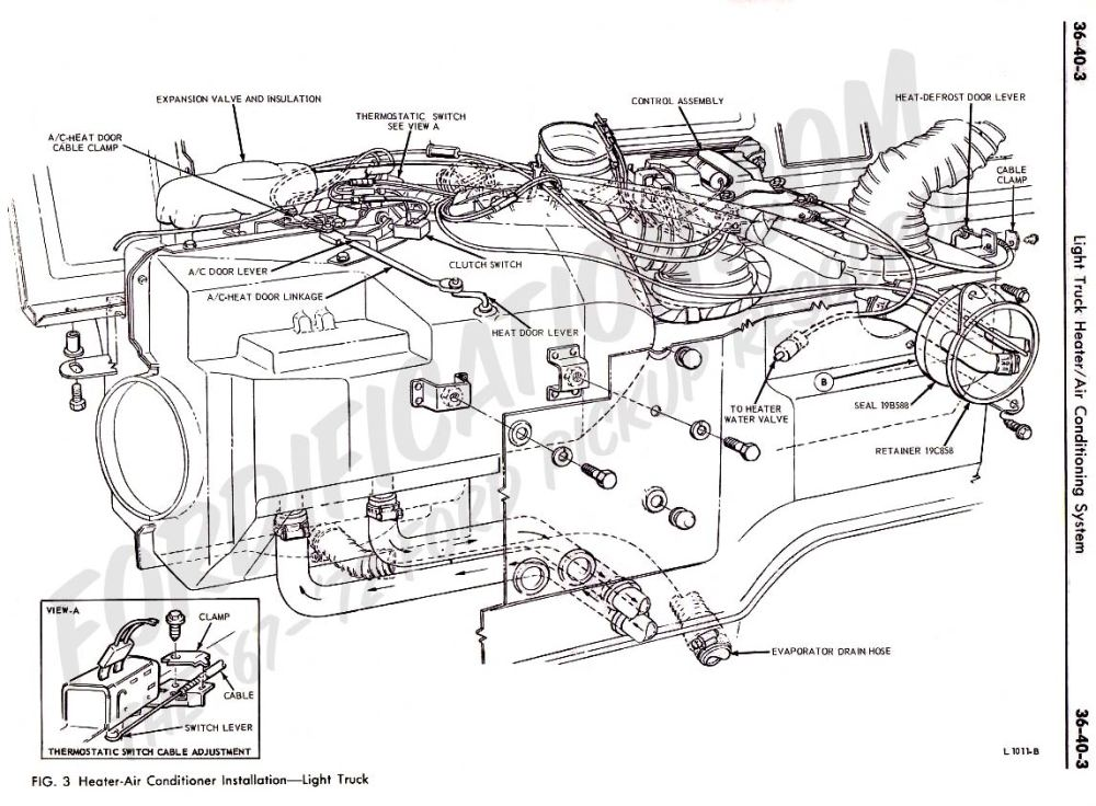 medium resolution of ford truck technical drawings and schematics section f heating f250 ac diagram f250 ac diagram